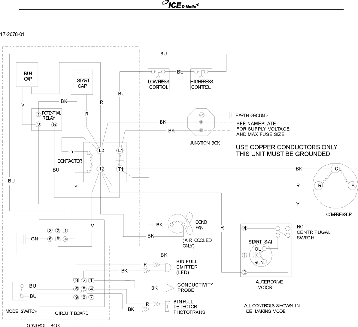 page 41 of ice o matic ice maker gem0956a w user guide gem0650 0956 1256 a w gem1256 wiring diagram