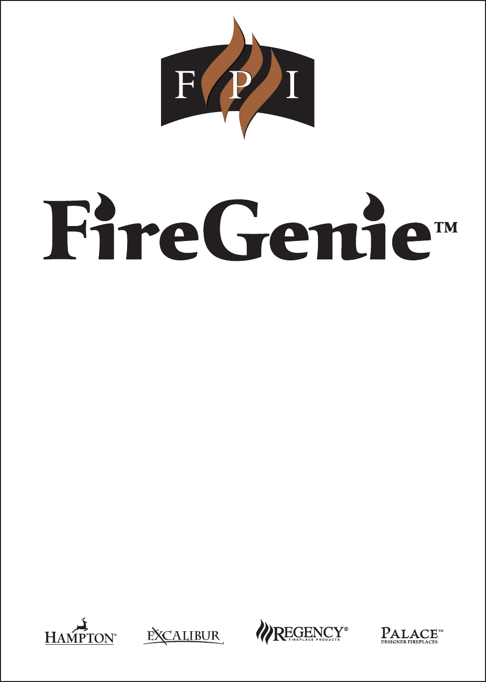 regency universal remote firegenie user guide manualsonline com