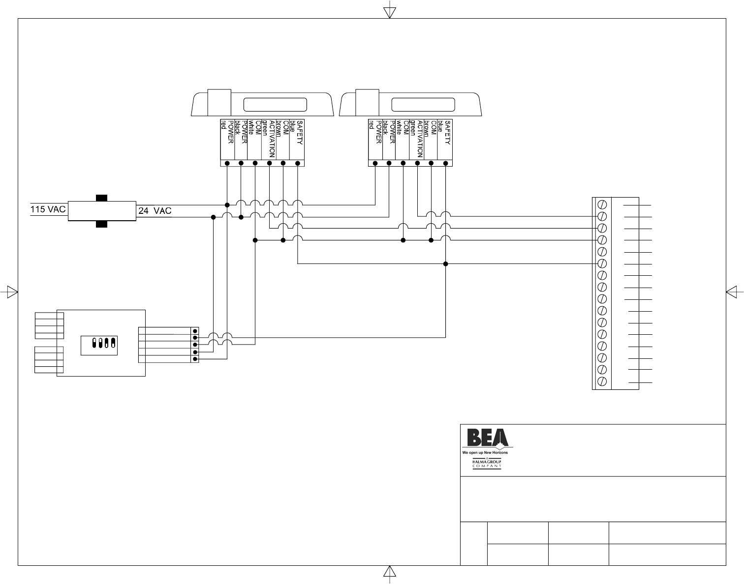 horton c4160 wiring diagram horton image wiring page 13 of bea switch c2150 user guide manualsonline com on horton c4160 wiring diagram