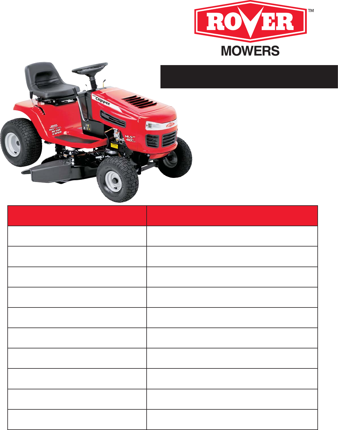 univex lawn mower 405012x108 user guide manualsonline com rh lawnandgarden manualsonline com