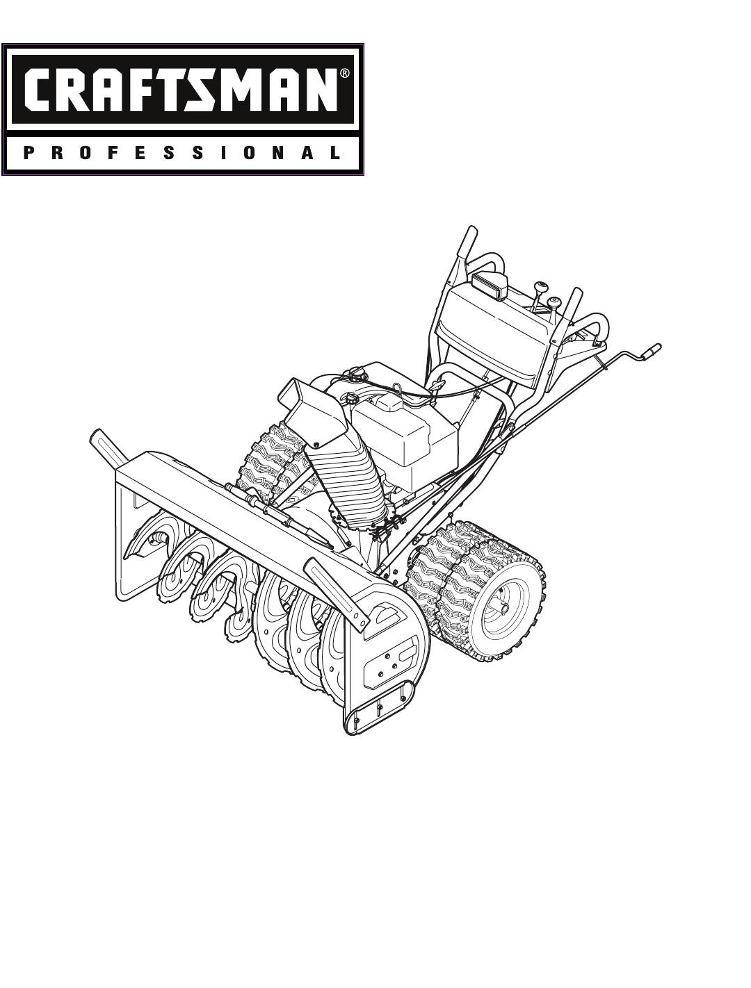 craftsman snow blower 247 88045 user guide