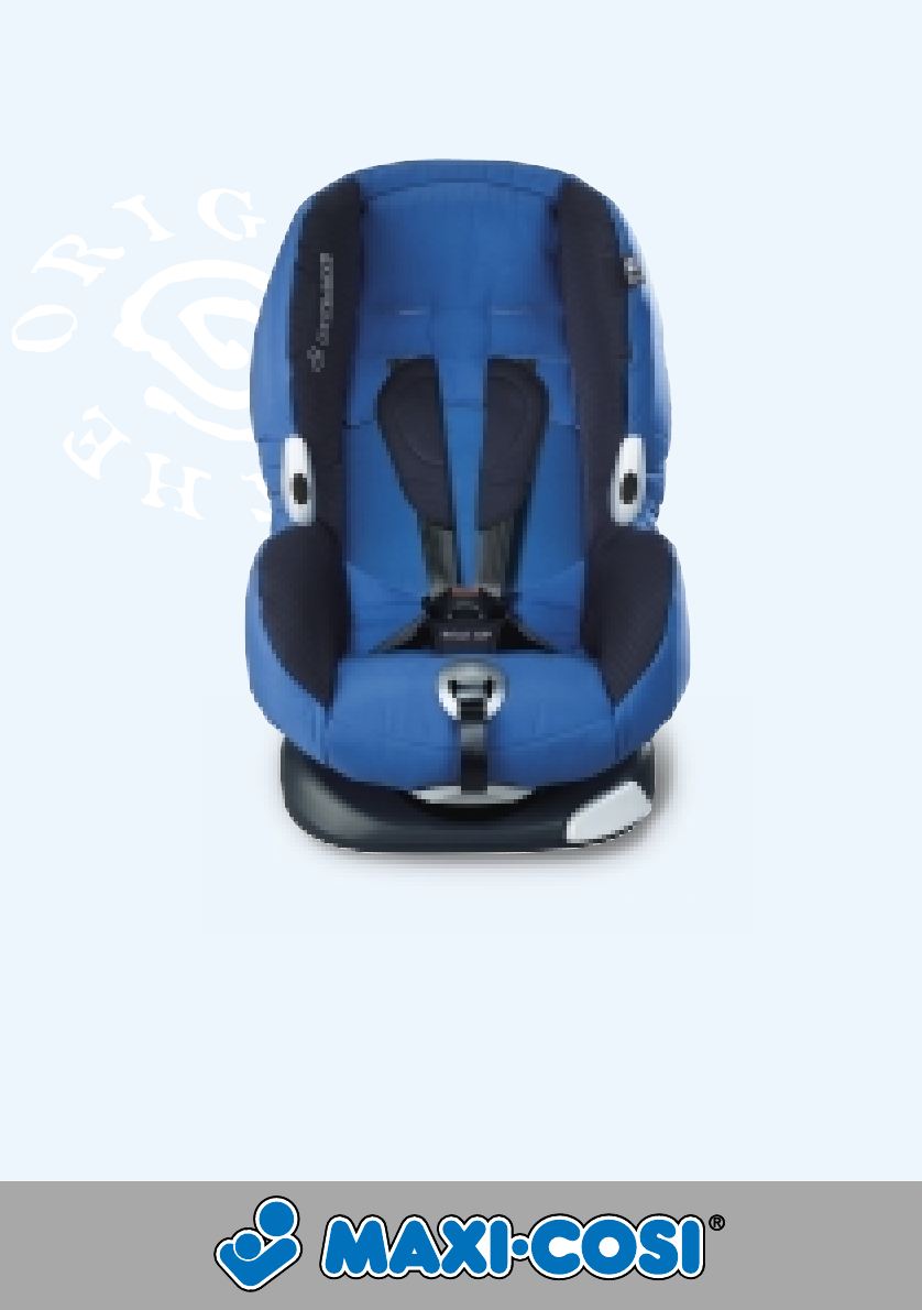 Maxi-Cosi Car Seat Priori XP User Guide | ManualsOnline.com