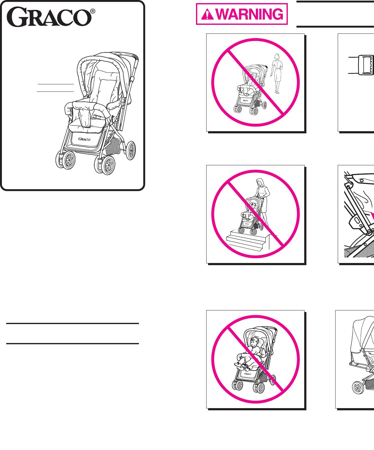 graco stroller 7225 user guide manualsonline com rh manualsonline com graco jogging stroller instruction manual graco modes stroller user manual