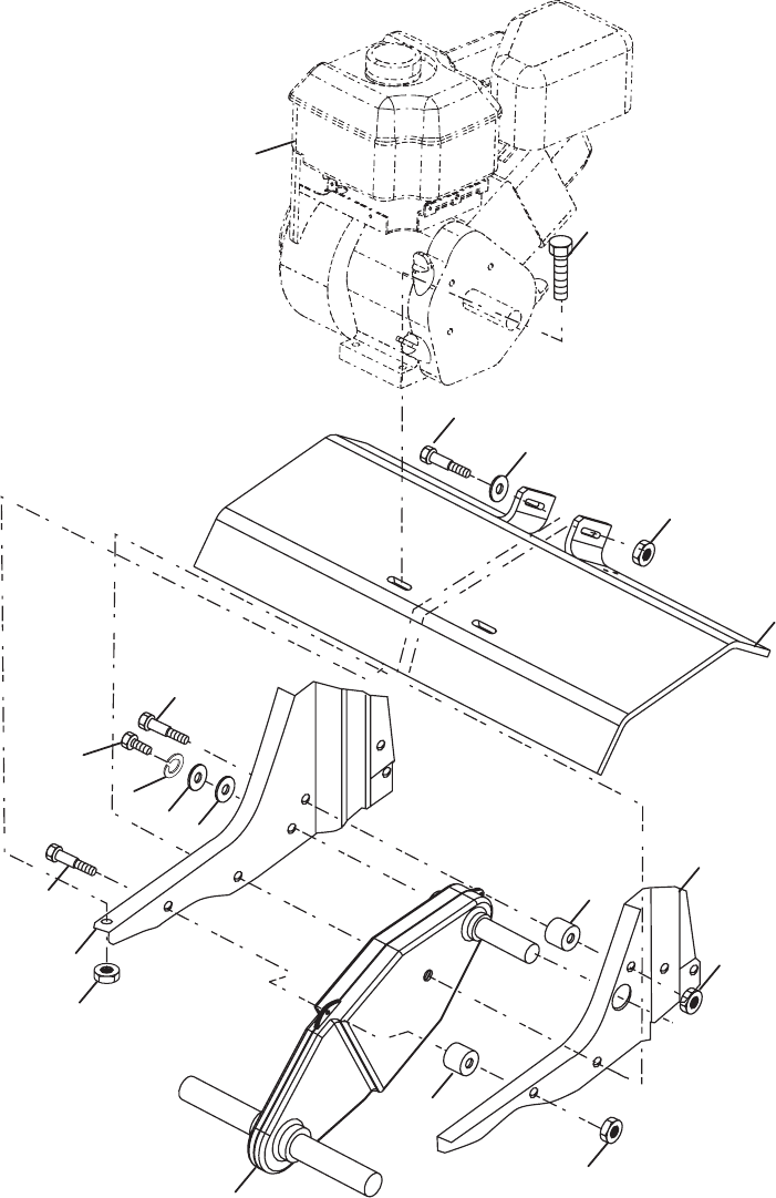 Tiller Parts Diagram Tiller Repair Parts Manual