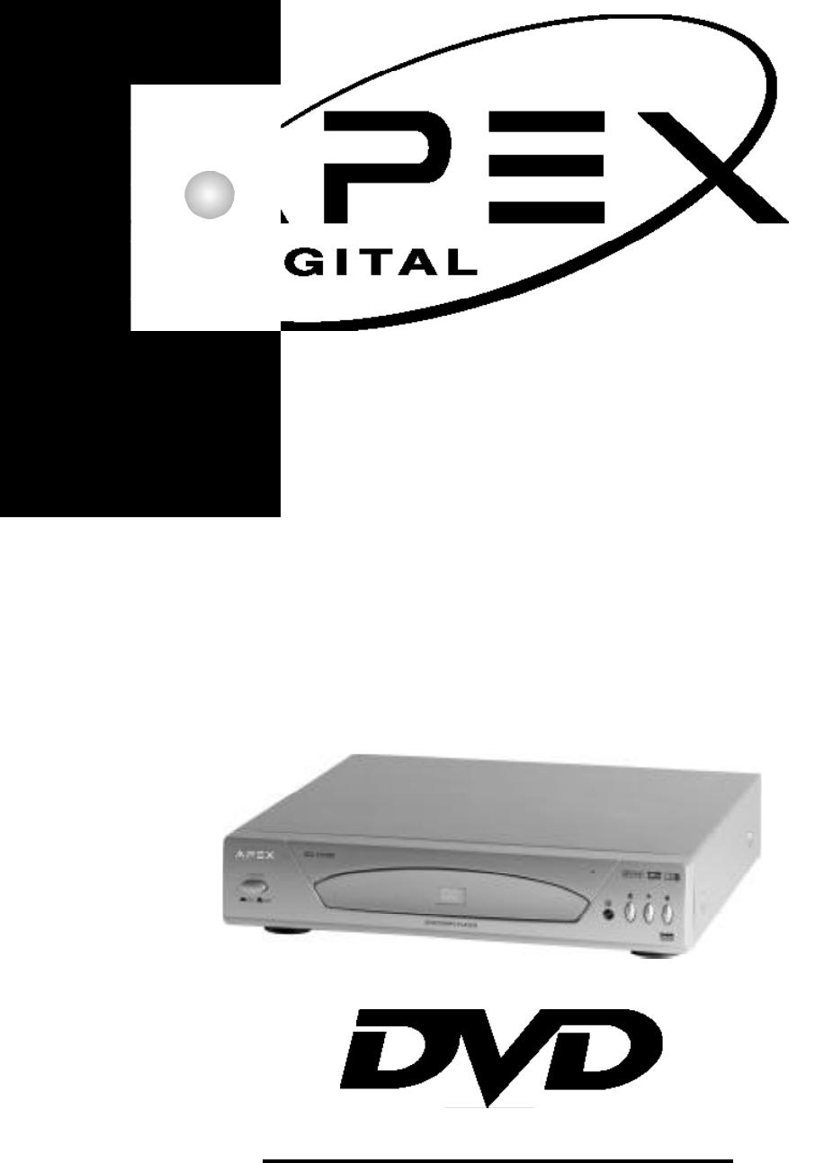 apex digital dvd player ad 1110w user guide manualsonline com rh tv manualsonline com