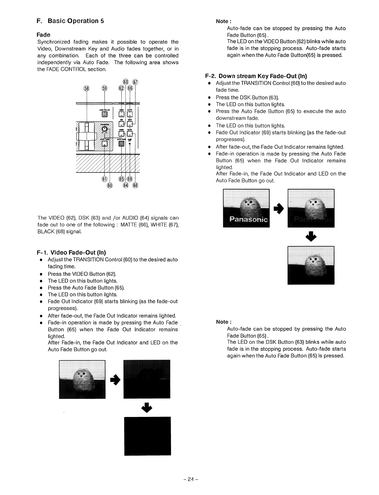 page 26 of panasonic music mixer wj mx30 user guide manualsonline com rh music manualsonline com Panasonic DJ Mixers Panasonic Mixer Grinder 110V