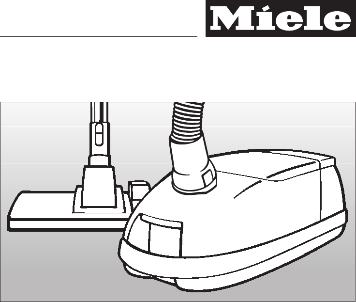 Miele Vacuum Cleaner S 560 User Guide | ManualsOnline.com