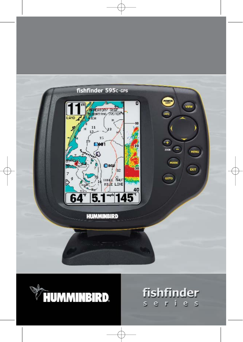 Humminbird fish finder 595c user guide for Humminbird fish finders