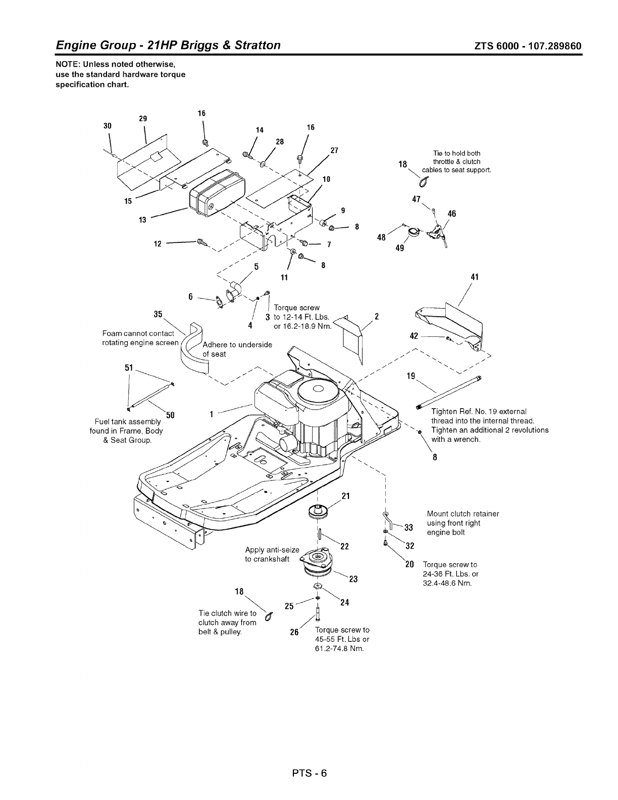 Page 78 Of Craftsman Lawn Mower Zts 6000 User Guide