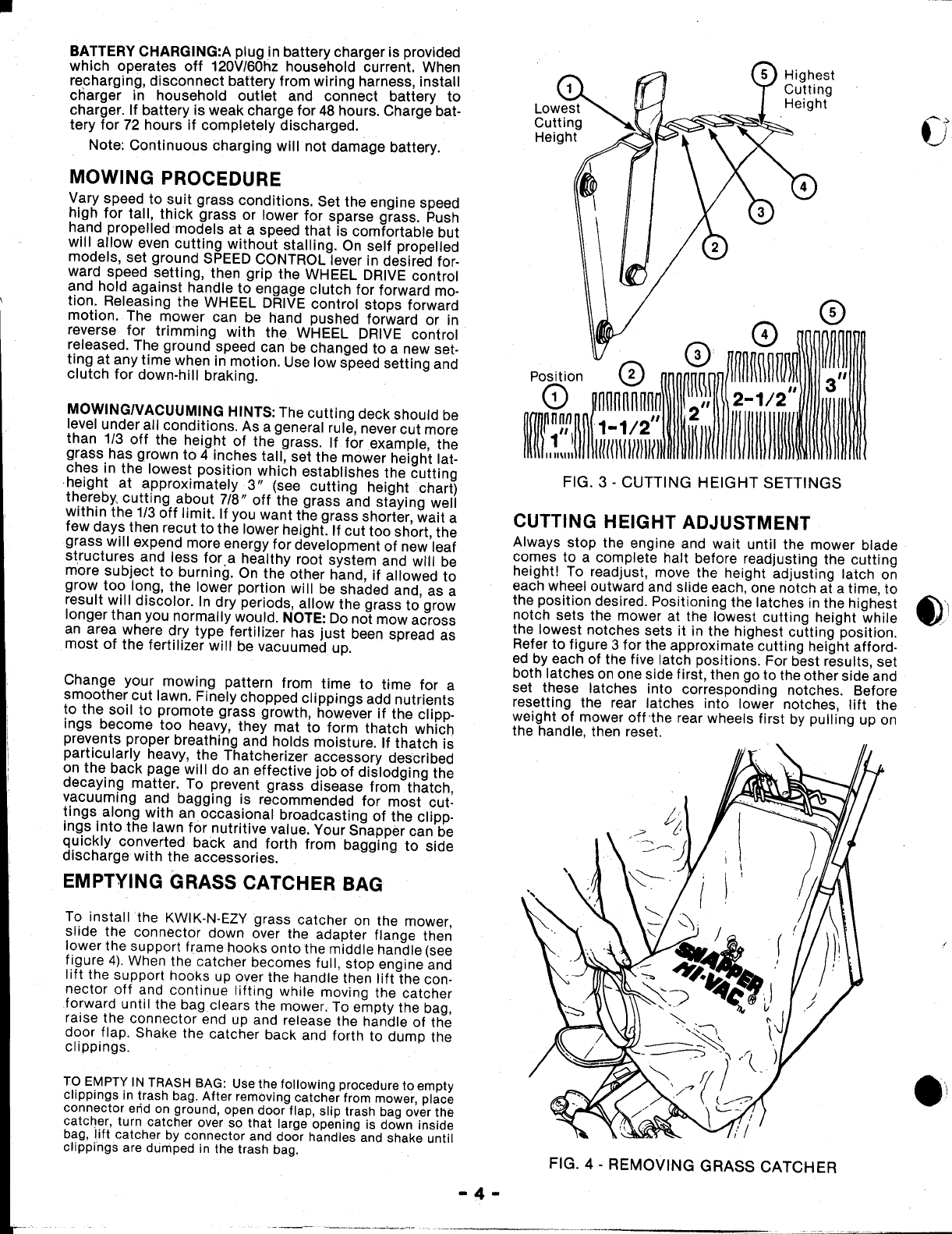 Page 4 Of Snapper Lawn Mower 214x1p User Guide Manualsonlinecom Wiring Harness 8