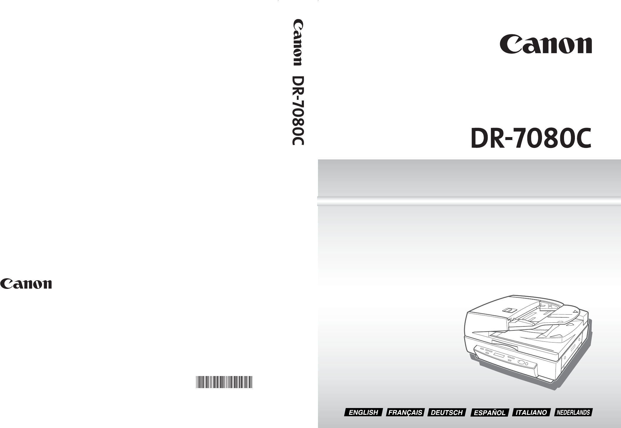 Canon dr 7080c scanner