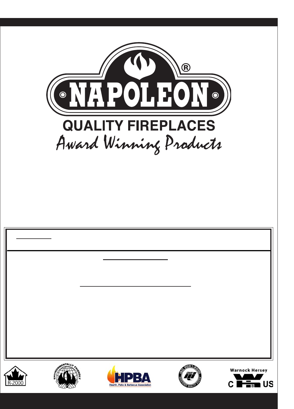 Napoleon Fireplaces Stove GDS 50-N User Guide | ManualsOnline.com