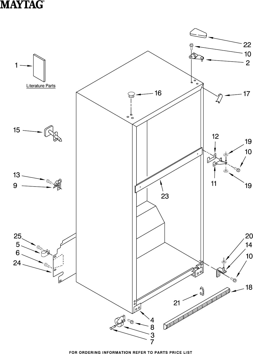 maytag refrigerators repair manual open source user manual u2022 rh dramatic varieties com Maytag Refrigerator Manual MFI2568AES Maytag Refrigerator Wiring Diagram