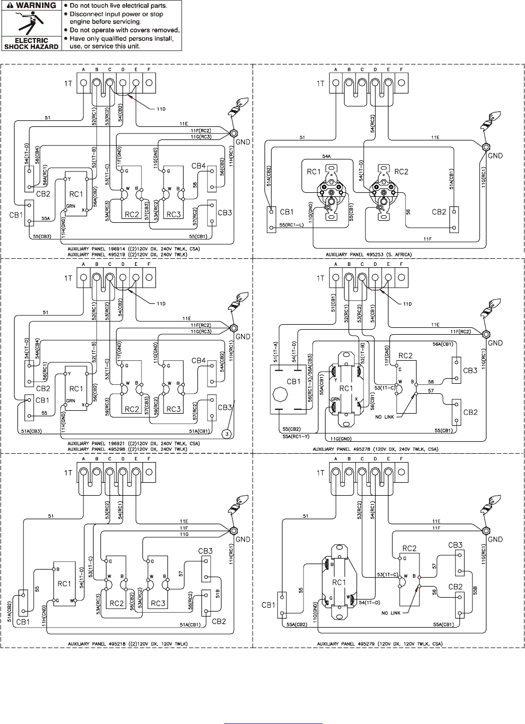 page 35 of miller electric welding system blue star 3500 user guide rh powertool manualsonline com Phone Wire blue star ductable wiring diagram