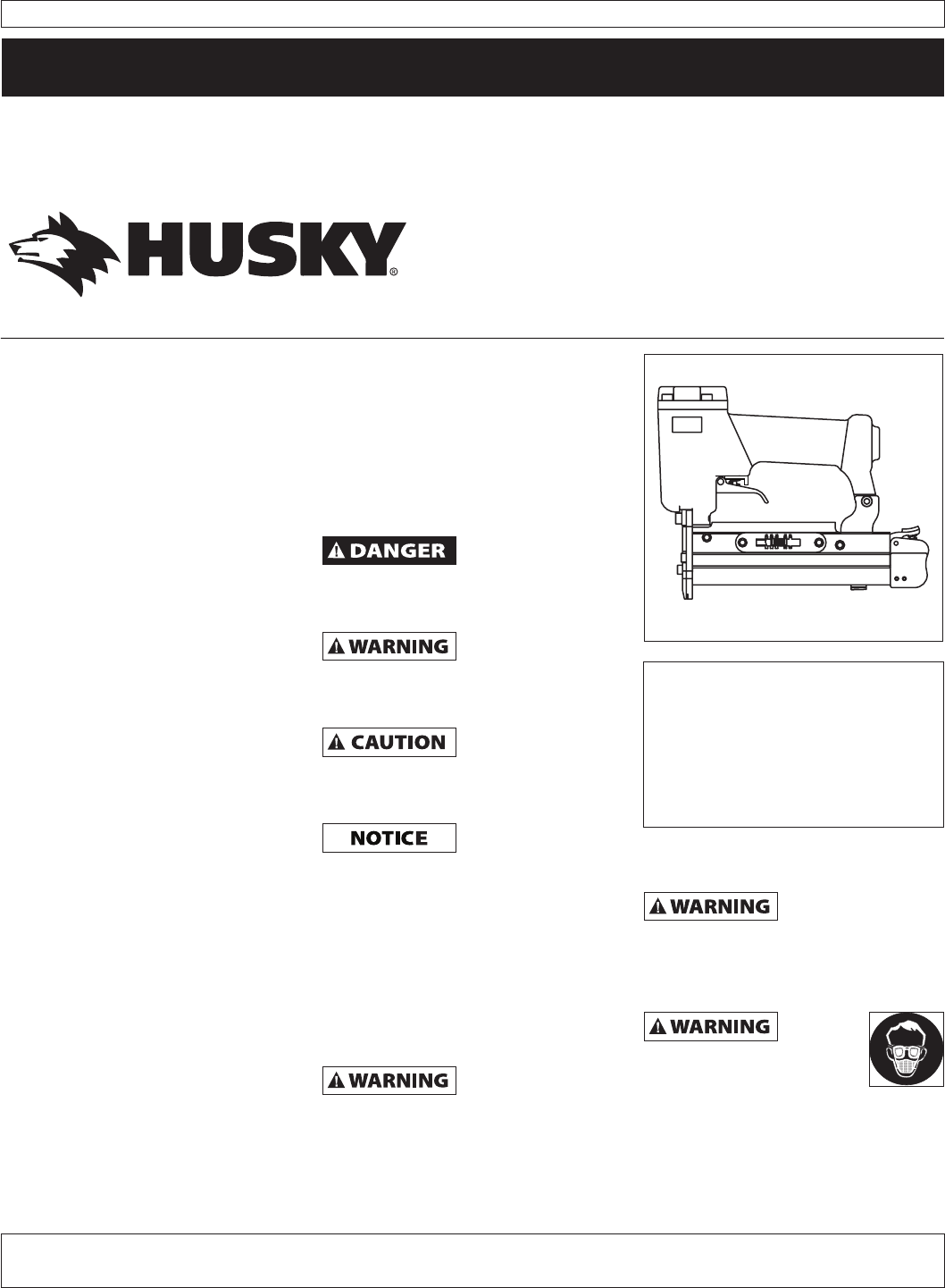 husky nail gun hdn10500 user guide manualsonline com rh powertool manualsonline com