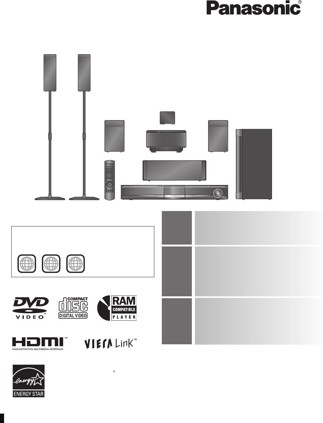 panasonic dvd player sc pt956 user guide manualsonline com rh tv manualsonline com panasonic sa-pt956 manual Panasonic Sound Systems for Homes
