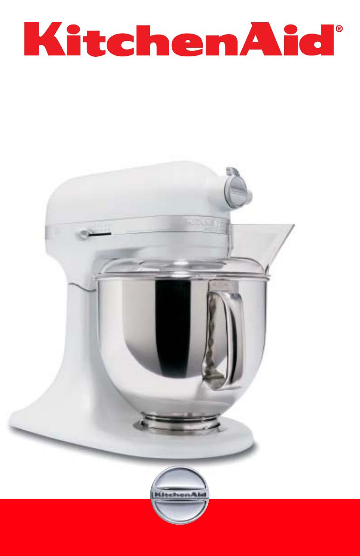 manuals for kitchenaid mixer accolade 400 tilt head stand mixer
