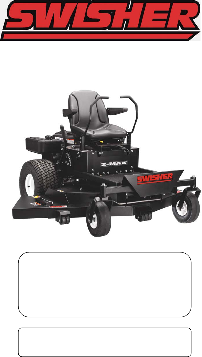 swisher mower Shop for swisher riding mower repair parts for model zt2660 at sears partsdirect find parts, manuals & diagrams for any swisher riding mower repair project.
