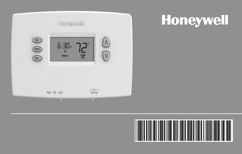 honeywell thermostat rthl2510 user guide manualsonline com rh homeappliance manualsonline com honeywell digital thermostat installation instructions honeywell digital thermostat owners manual
