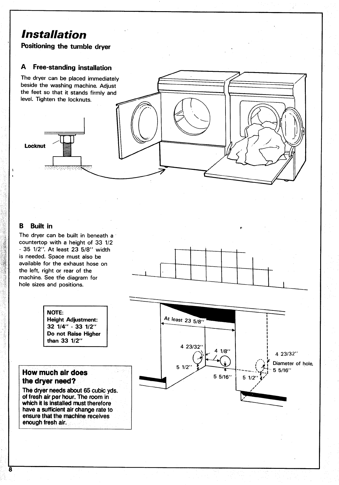 Page 8 of Asko Clothes Dryer 7304 User Guide | ManualsOnline.com Asko Dryer Schematic Wiring Diagram on