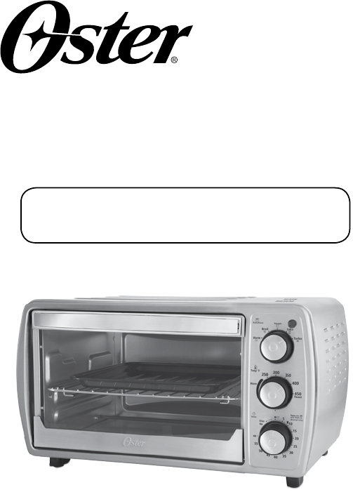 Oster Oven Countertop User Guide