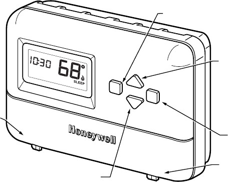 Honeywell Thermostat Support on honeywell thermostat manual pdf