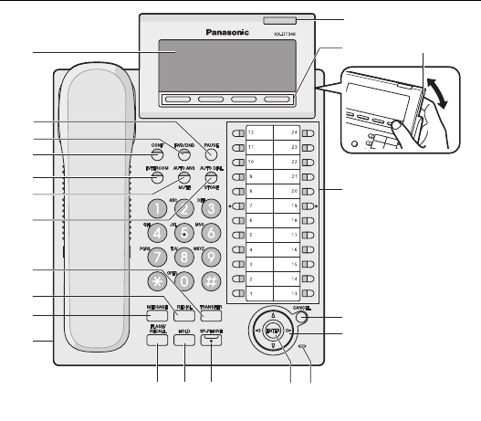 page 3 of panasonic telephone kx dt343 user guide Telephone Panasonic Kx DT343 Manual Panasonic TV