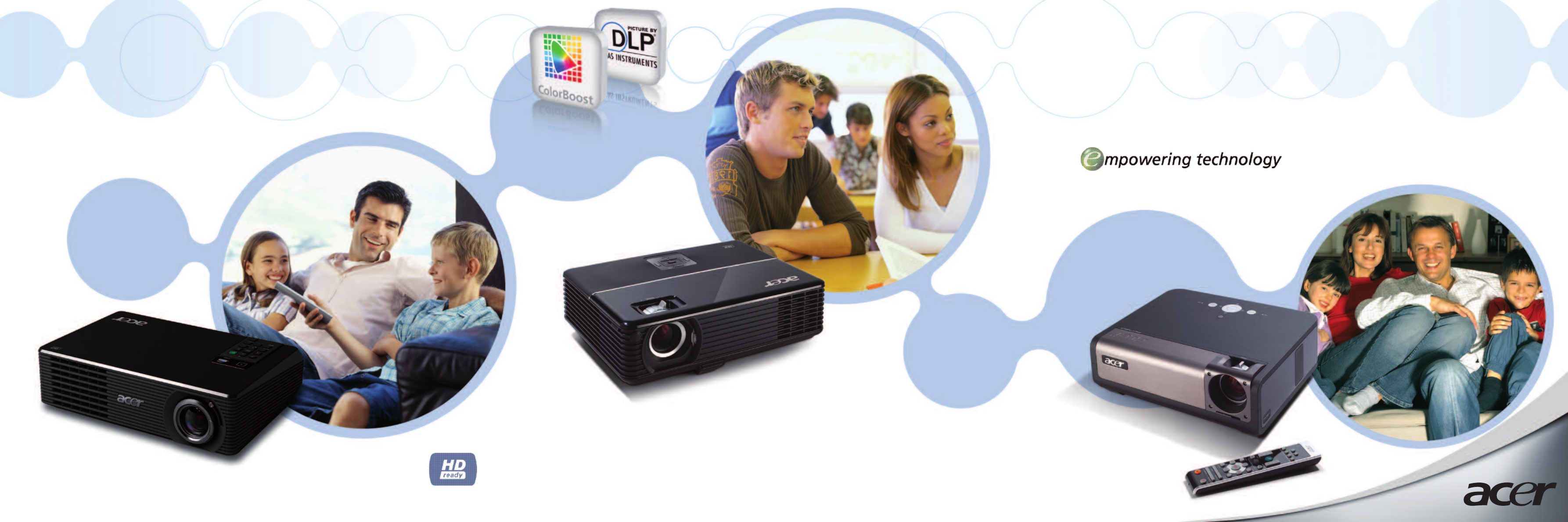 The Acer X1160 and X1260 projectors were designed to make entertainment  simple for all the