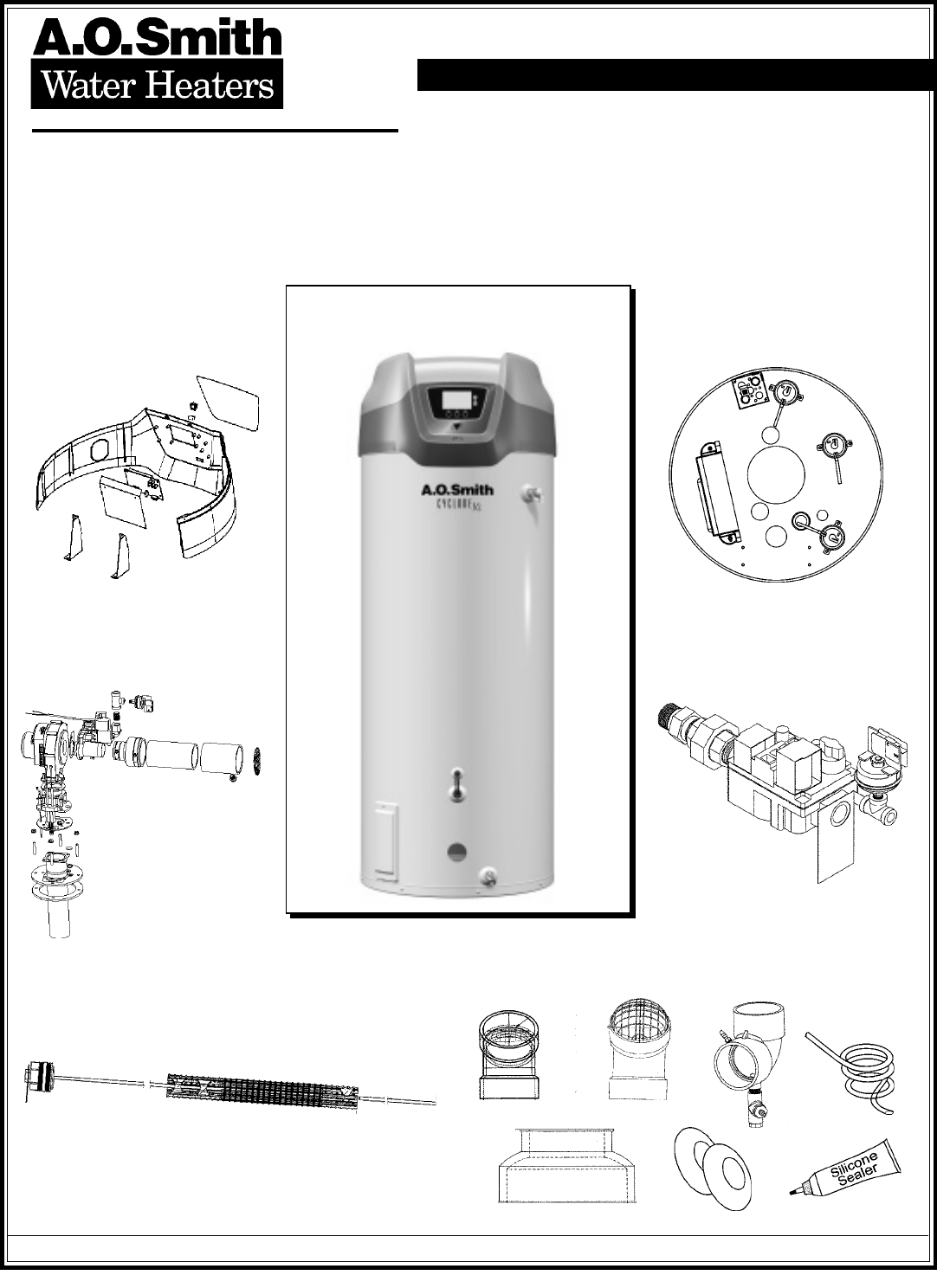 A O Smith Water Heater Bth 199 A User Guide