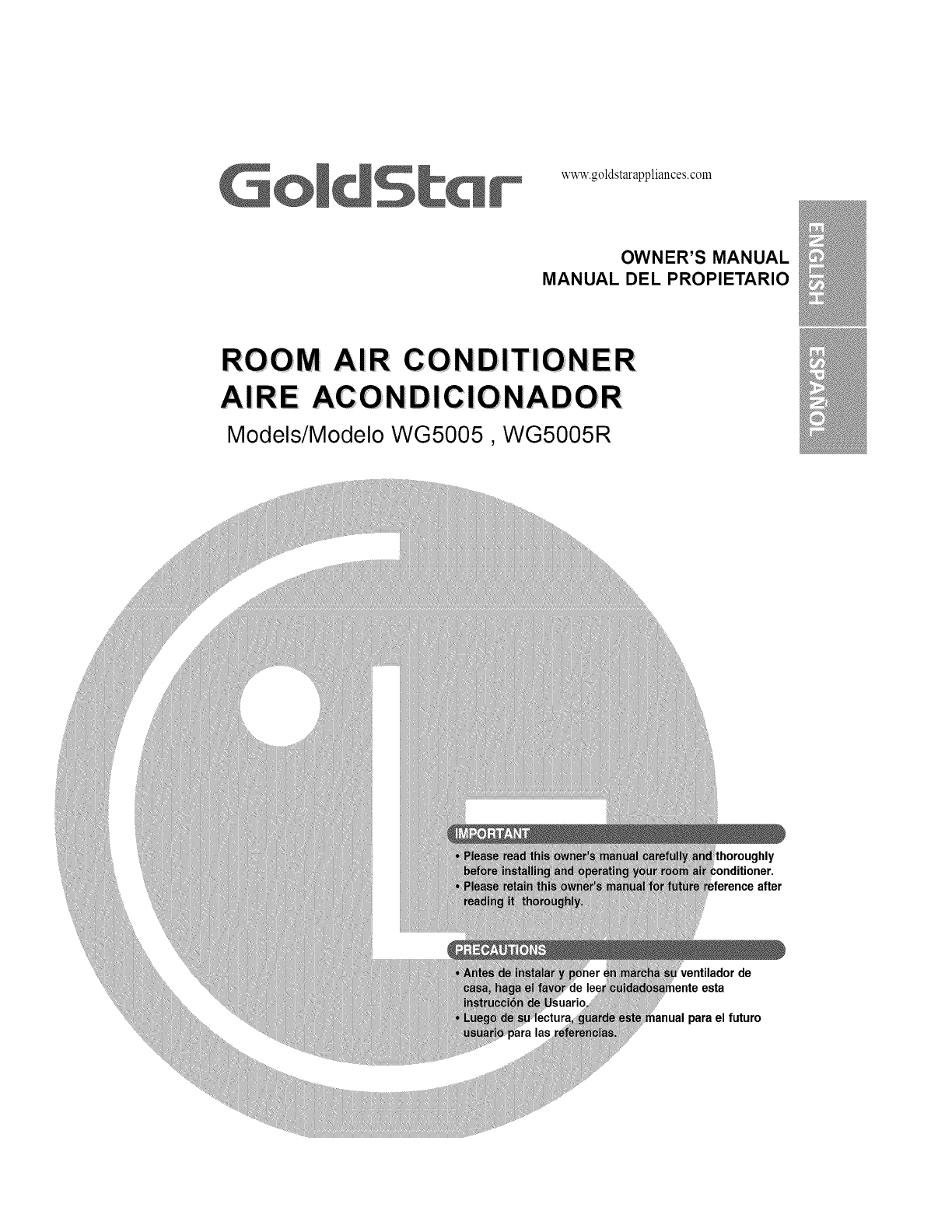 goldstar air conditioner wg5005r user guide manualsonline com trane air conditioner diagram goldstar air conditioner wiring diagram #14