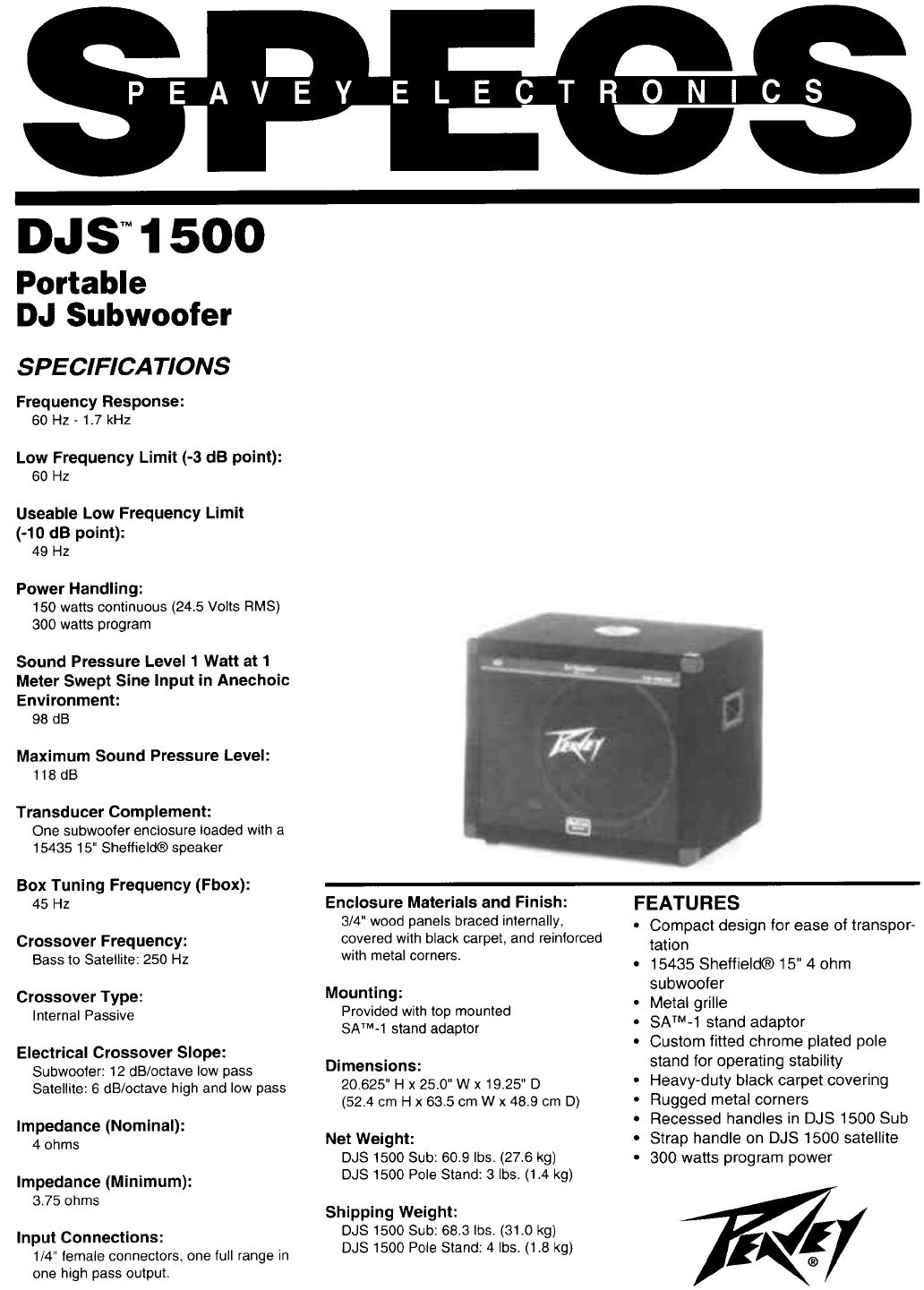 peavey speaker djs 1500 user guide manualsonline com rh audio manualsonline com Kindle Fire User Guide Kindle Fire User Guide