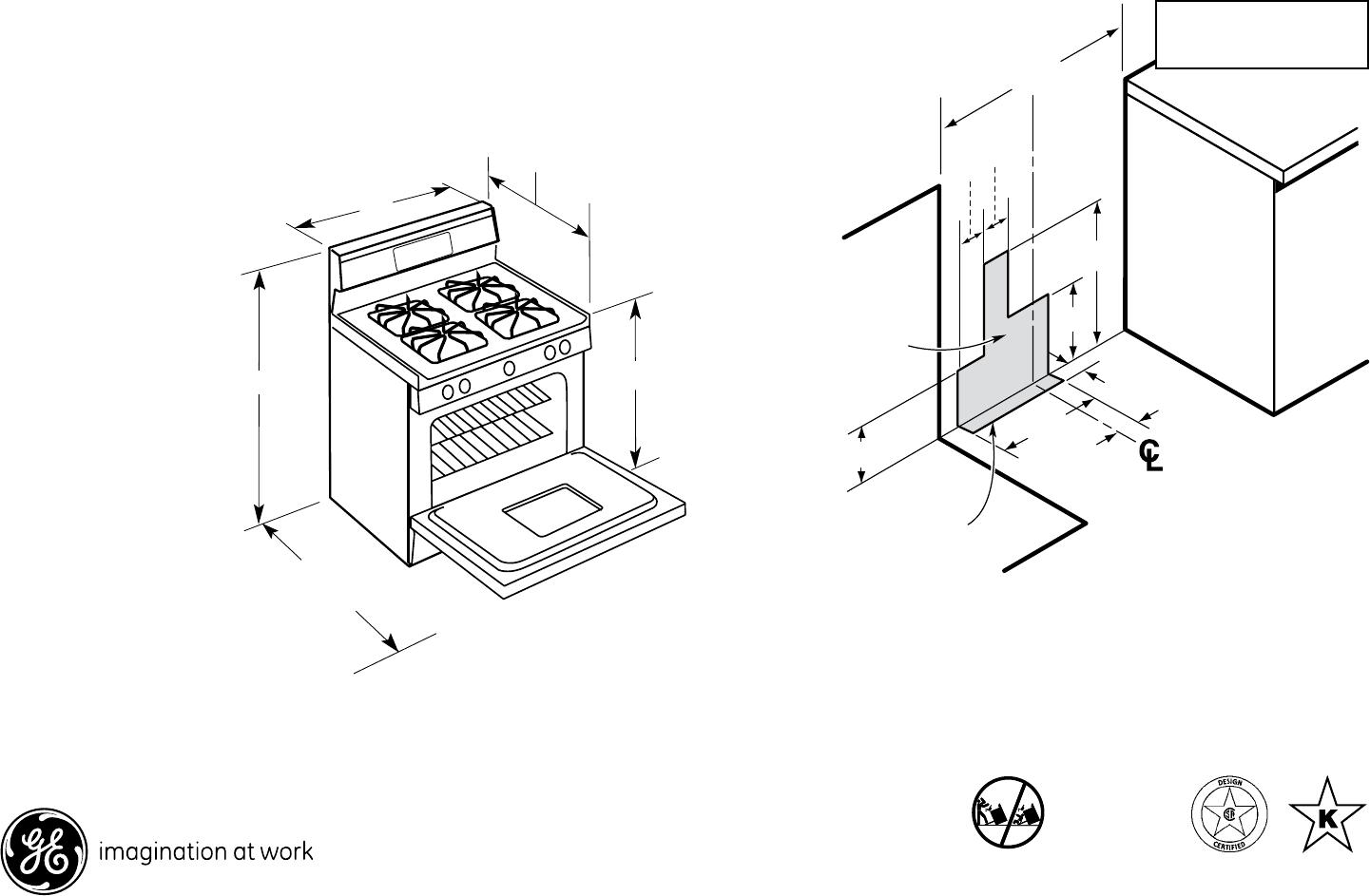 Kitchen Range Dimensions