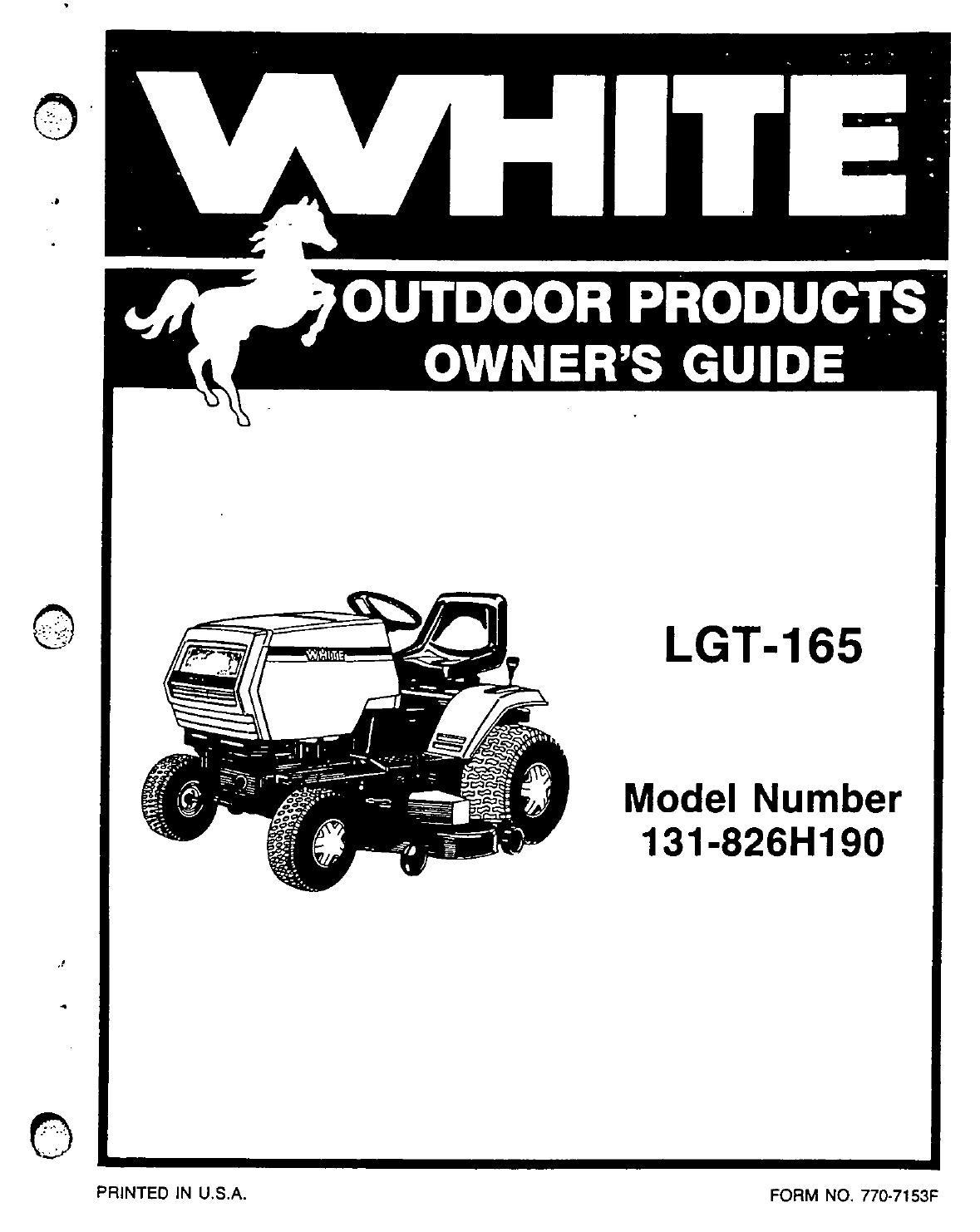 9e773657 6bfb 4abb b495 01ab459dd8bd bg1 white lawn mower 131 826h190 user guide manualsonline com Toto LT542G at bakdesigns.co
