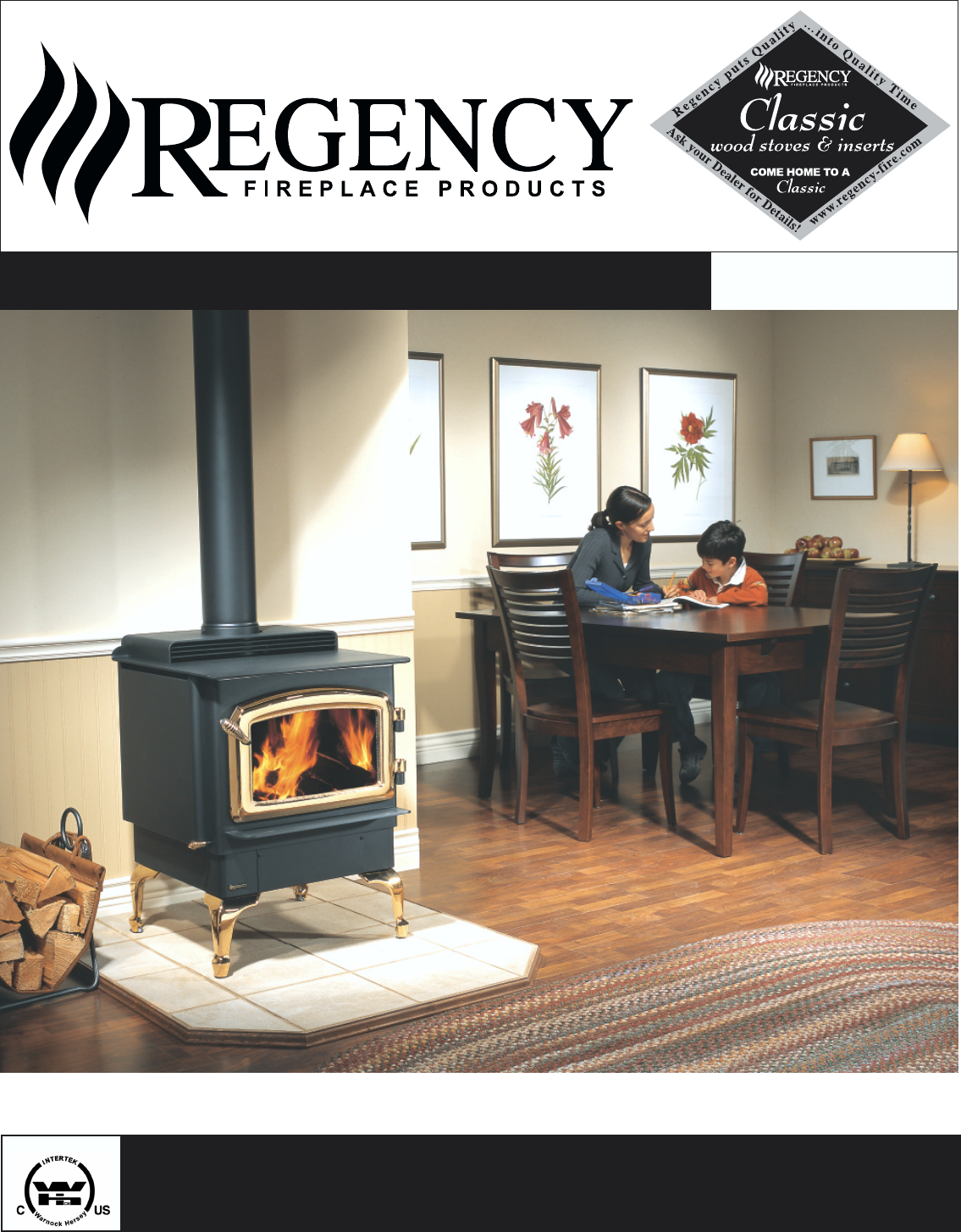 Regency Stove F1100s User Guide