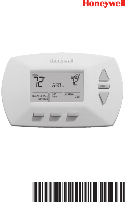 Honeywell thermostat rth6450 user guide manualsonline rth6350rth6450 series programmable thermostat cheapraybanclubmaster Gallery