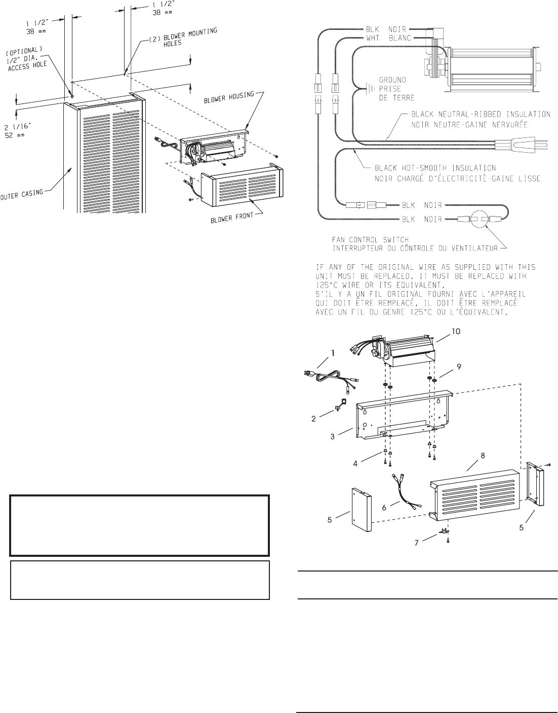 empire wall heater wiring diagram