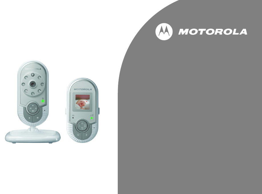 motorola baby monitor mbp20 user guide. Black Bedroom Furniture Sets. Home Design Ideas