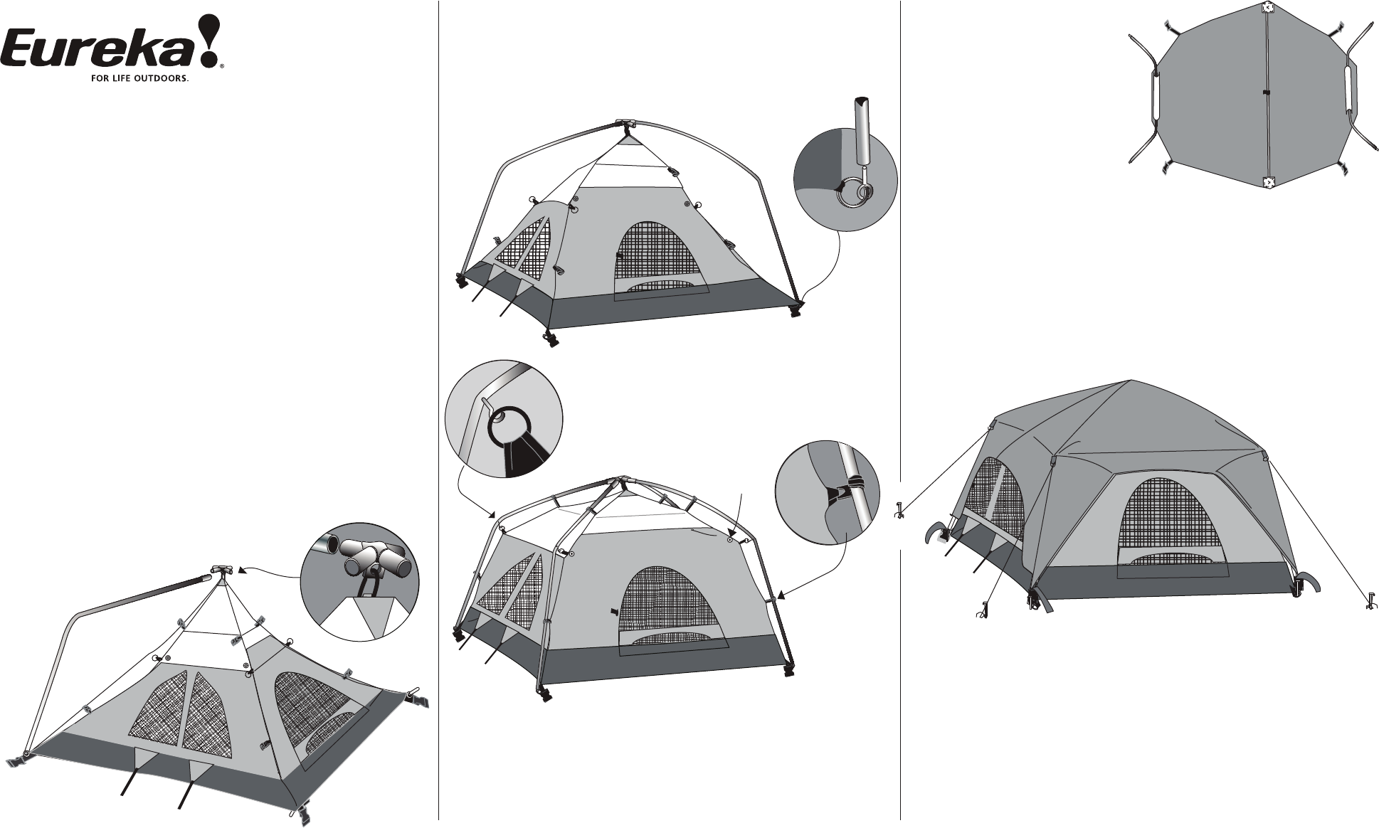 Tents Titan Tent User Manual  sc 1 st  Camera Manuals - ManualsOnline.com & Eureka! Tents Tent Titan User Guide | ManualsOnline.com