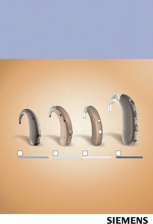 siemens touching hearing aid instructions