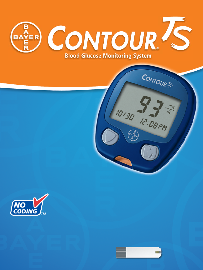 bayer healthcare blood glucose meter ts user guide manualsonline com rh personalcare manualsonline com bayer contour glucose meter manual ascensia contour glucose meter manual