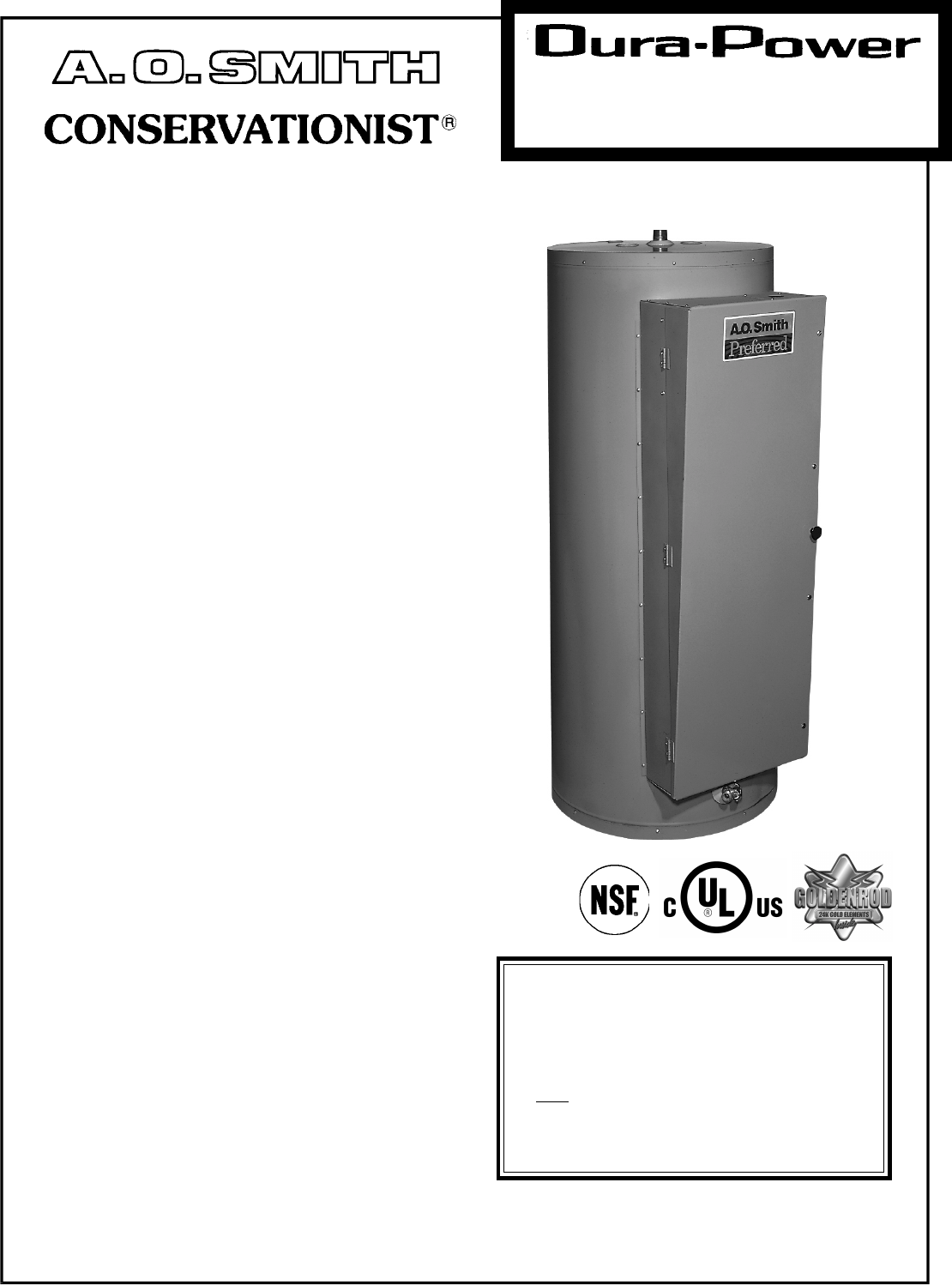 dre 120 ao smith water heater wiring diagram dre discover your ao smith water heater dre 120 user guide manualsonline