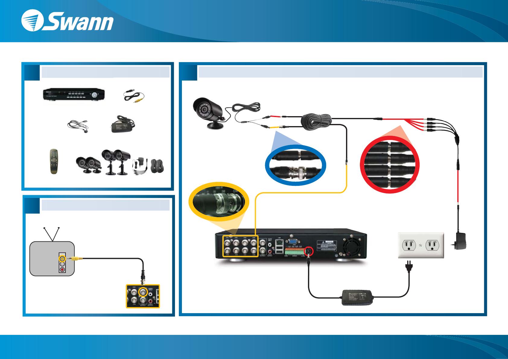 Swann DVR DVR8-2500 User Guide   ManualsOnline com