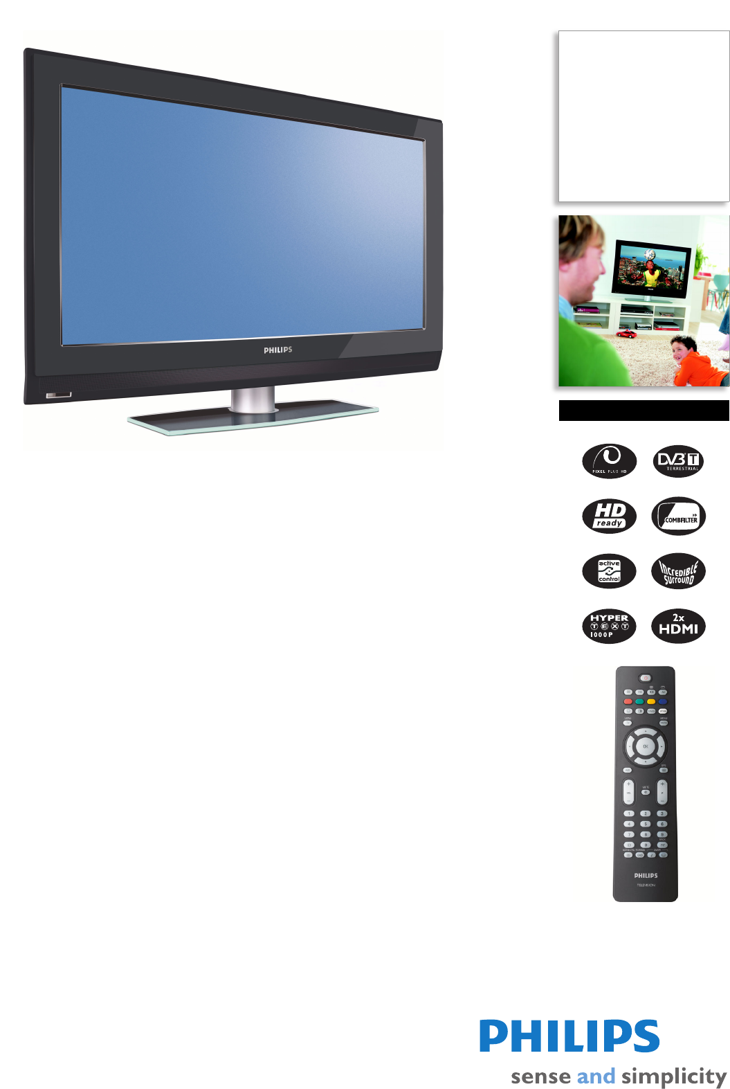 philips flat panel television 32pfl5522d user guide manualsonline com rh tv manualsonline com Philips Universal Remote User Manual Philips Universal Remote User Manual