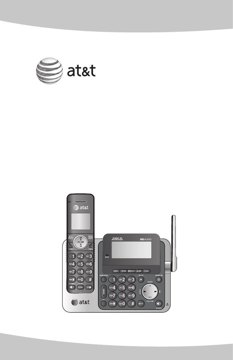 at&t answering machine manual