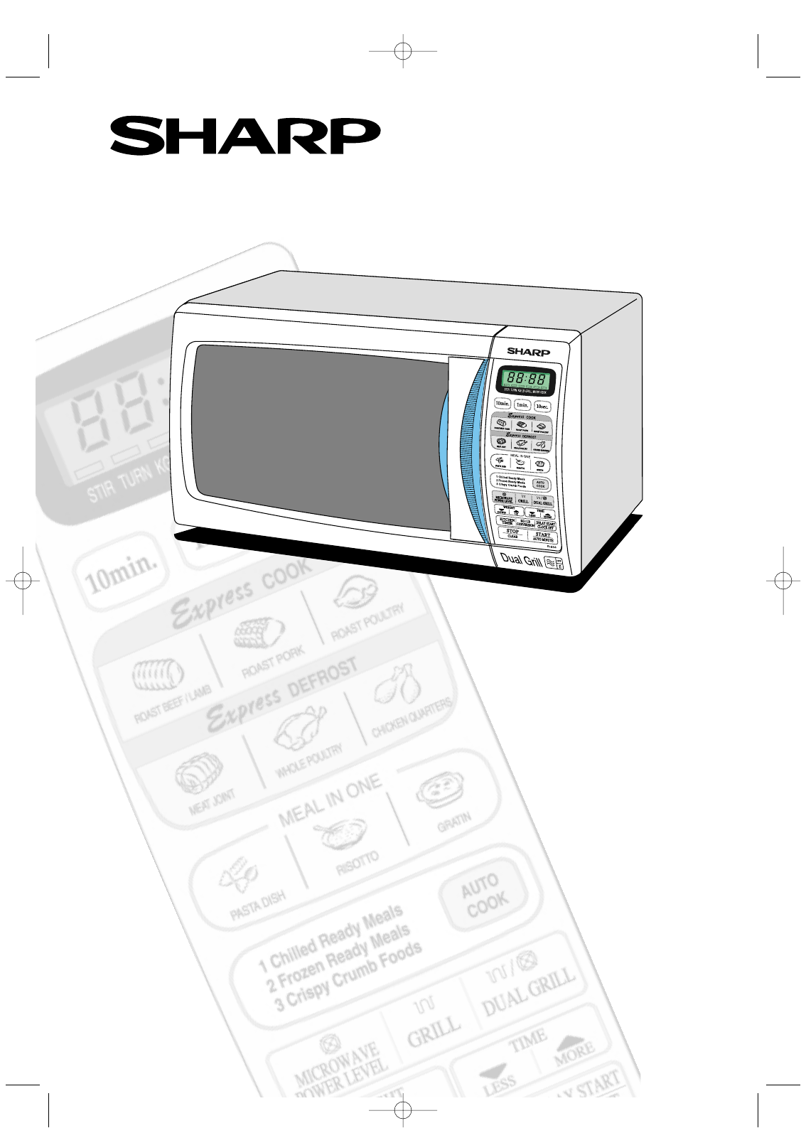 sharp microwave oven r
