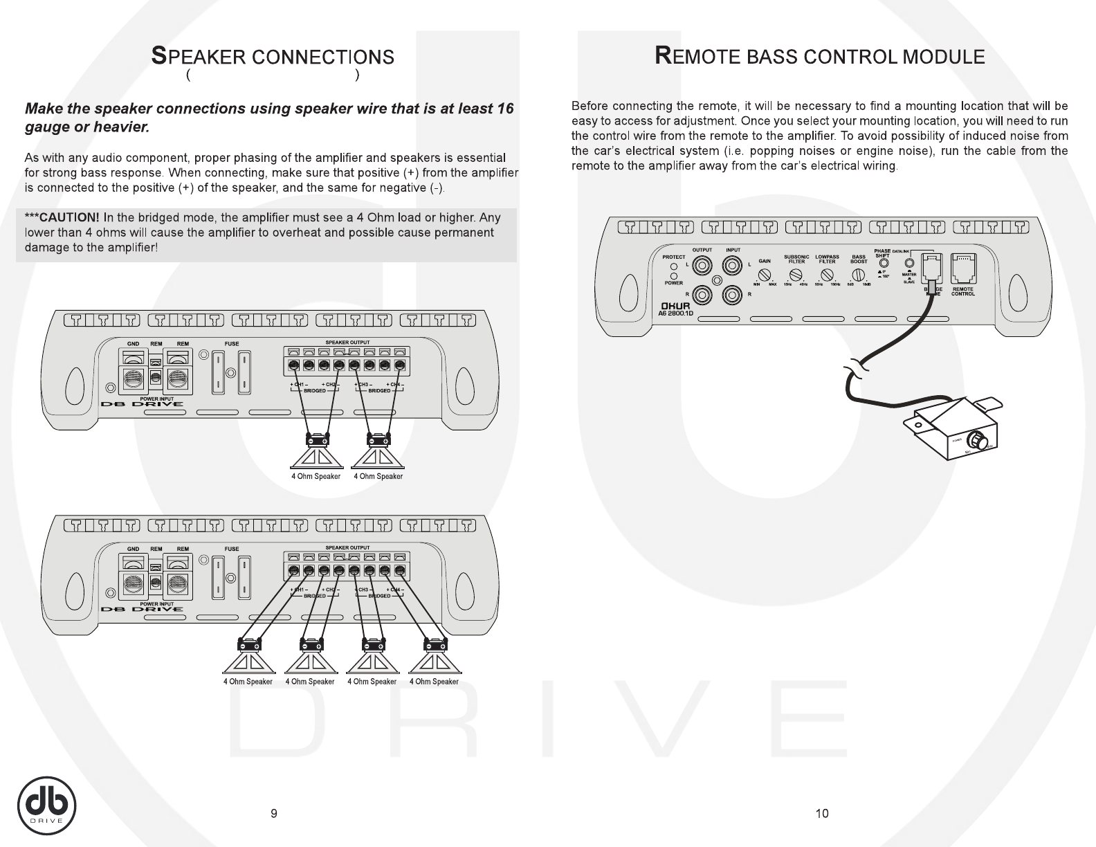 Db Drive Amp Wiring Diagram | Wiring Liry on