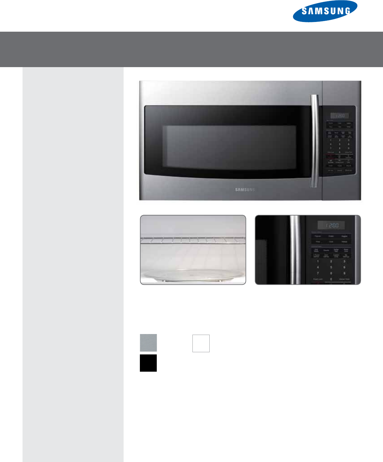 samsung microwave oven smh1816s user guide manualsonline com rh kitchen manualsonline com samsung microwave smh1816s installation guide samsung smh1816s mounting instructions
