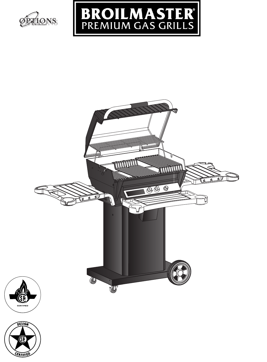 Broilmaster Gas Grill D3-1 User Guide | ManualsOnline.com