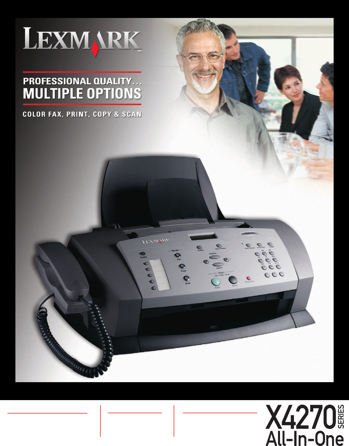lexmark all in one printer x4270 series user guide manualsonline com rh office manualsonline com