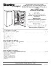 free danby refrigerator user manuals manualsonline com rh kitchen manualsonline com danby designer mini fridge user manual danby mini fridge user manual